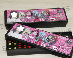 Dominó Personalizado Monster High