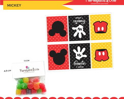 Lapelas Mickey Clean