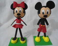 Fofuchos Mickey e Minnie