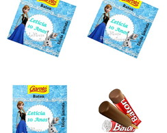 Rotulo  Chocolate Baton Frozen