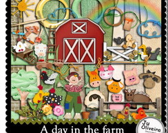 A Day in the Farm - Kit Digital