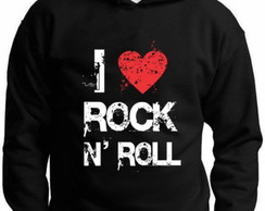 MOLETOM I LOVE ROCK N ROLL