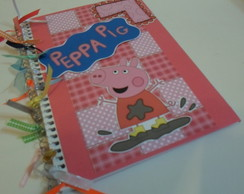 Caderno Decorado da Peppa