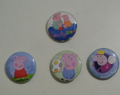 Botton com alfinete Peppa Pig