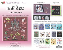 Kit de Quilling Little Girls
