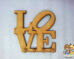 "Porta chaves ""Love"""