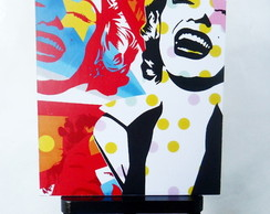 MINI POSTER -POP ART MARYLIN