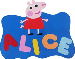 Painel Logo Peppa Pig