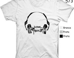 CAMISETA I LOVE MUSIC