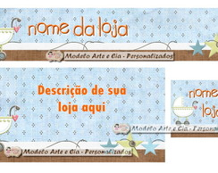 Kit Loja Virtual elo7 (Baby)