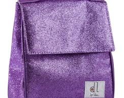 Lunch Box Glitter Lilás