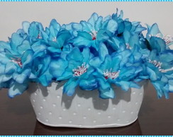 Arranjo Floral - Blue Flowers