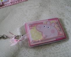 Chaveiro Mini Album Peppa Pig