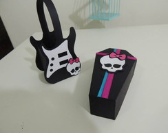 Monster High - Guitarra porta guloseimas
