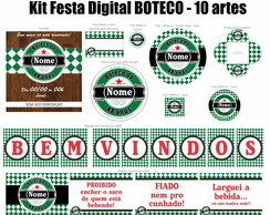 Kit Festa Digital Boteco - Verde