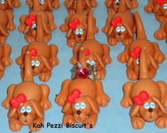 cachorrinhos de biscuit