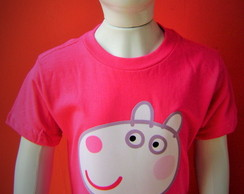 Camiseta Suzy Sheep - Familia Pig