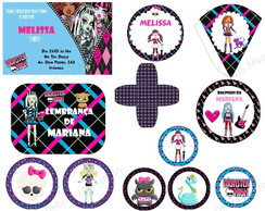 Kit Festa Monster High
