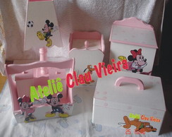 KIT HIGIENE + ENF. PORTA TURMA DO MICKEY