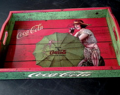 Bandeja Coca Umbrella