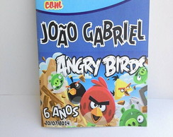 Revista de Colorir Angry Birds