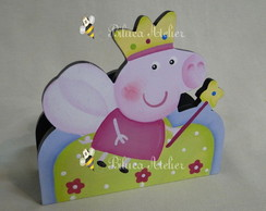 PORTA GUARDANAPOS PEPPA PRINCESA