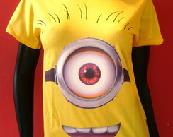 Baby look Minion 1 olho