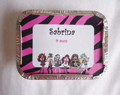 Marmita Personalizada Monster High