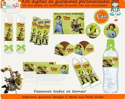Kit guloseimas digital Shrek