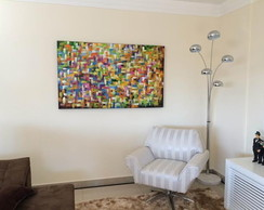 PAINEL ABSTRATO 90X150 COD 419