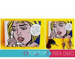 Porta Chaves PopART