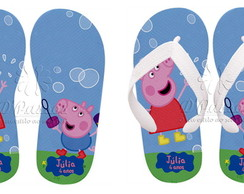 Chinelo Peppa Pig e George01
