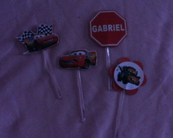 Toppers Simples Carros Disney