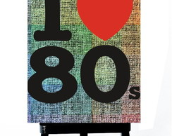 * MINI POSTER PLUS - I LOVE YEARS 80