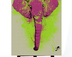 * MINI POSTER PLUS - ELEPHANT