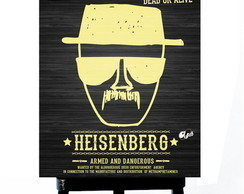 * MINI POSTER PLUS - HEISENBERG