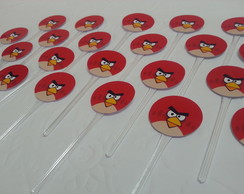 Toppers para CupCakes - Angry Birds
