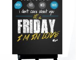 * MINI POSTER PLUS - FRIDAY I AM IN LOVE