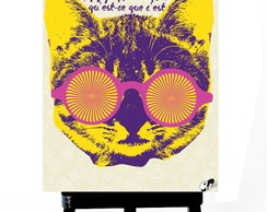 * MINI POSTER PLUS - PSYCO CAT