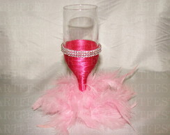 TAÇA DECORADA PINK