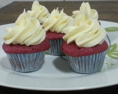 Mini Cupcakes Red Velvet e de Chocolate