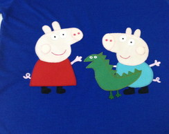 Camiseta Peppa e George Pig