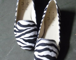 Slipper - Zebra