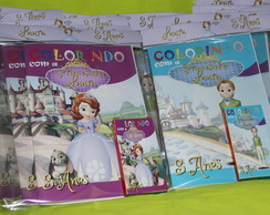 Revista Para Colorir KIT PRINCESA SOFIA