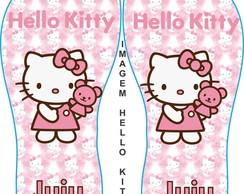 Chinelos Personalizados Hello Kitty