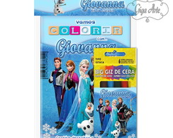 Kit Colorir Pocket - Frozen