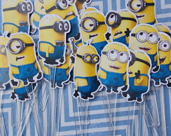 Minions [kit 20 toppers]