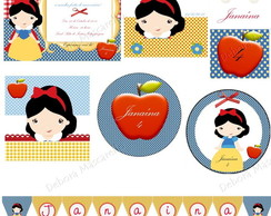 Kit Digital Branca de Neve I