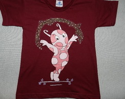 camiseta pintada BACKYARDIGANS- Uniqua