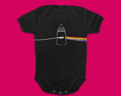 BODY ROUPA BEBE ROCK PINK FLOYD - DARK SIDE OF MAMADEIRA